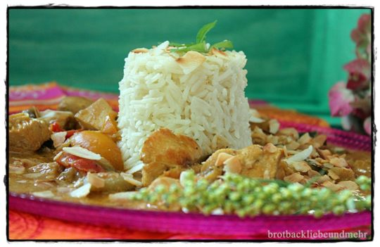 Indisches Kokos-Hähnchen-Curry im Slowcooker