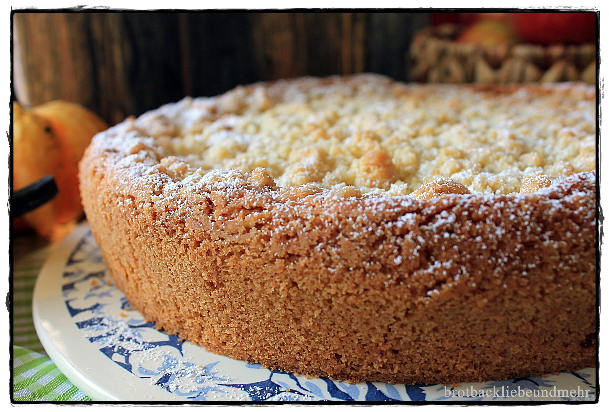 Kostlicher Apfel Pudding Schichtkuchen Brotbackliebe Undmehr