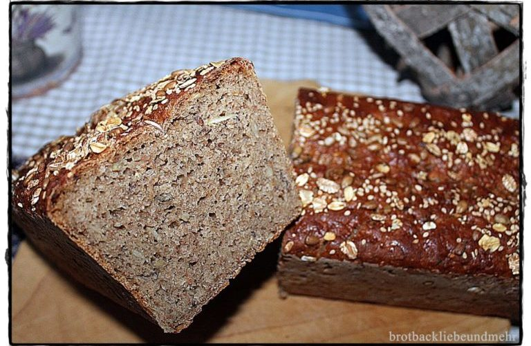 Roggenkruste mit Brühstück