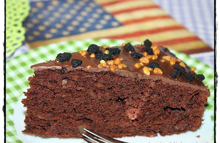 Brownie-Apfel-Kuchen