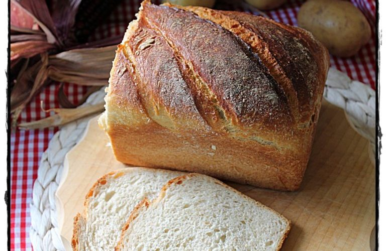 Kartoffel-Schmand-Brot