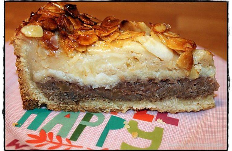 """""""7 auf einen Streich""""  Geschichteter Apfel-Walnuss-Kuchen für  """"calendar of cakes"""" von sugarprincess"""