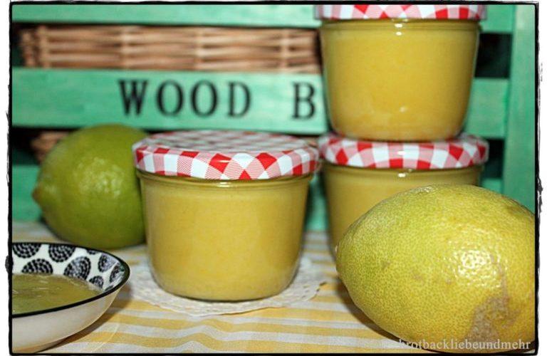 Lemoncurd – Zitronencreme