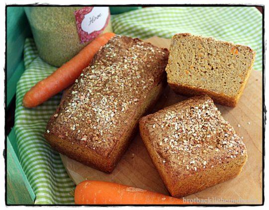 Hirse-Karottenbrot glutenfrei