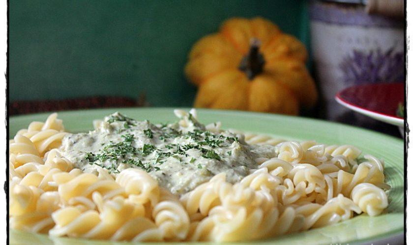 Pasta mit Broccoli-Käse-Nuss-Soße