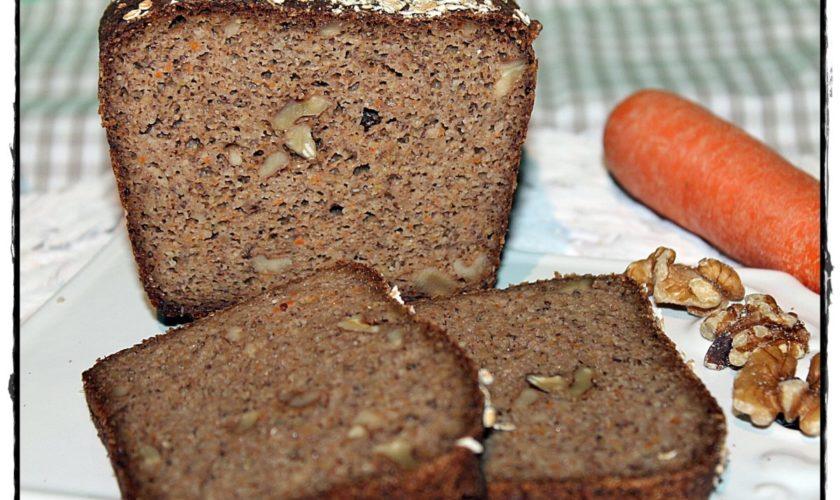 Walnuss-Karottenbrot glutenfrei