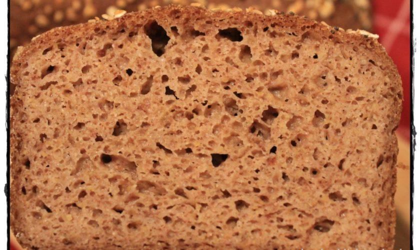 Bauernbrot mit Traubenkernmehl – glutenfrei