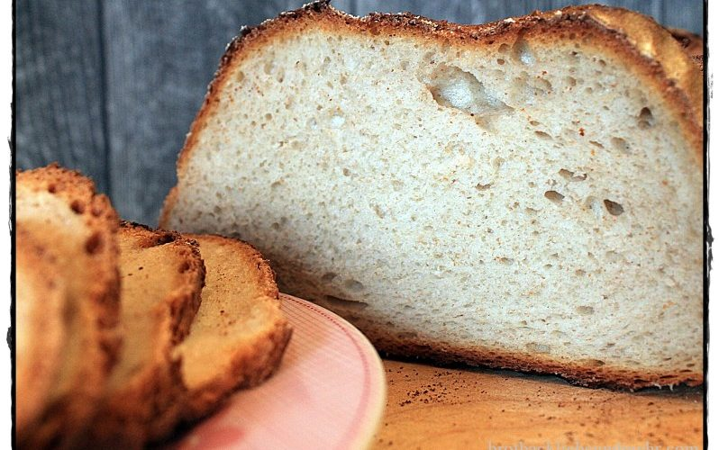 Quark-Brot mit Lievito Madre