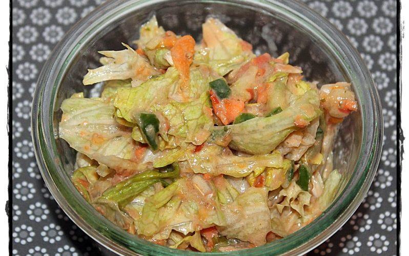Schneller Eisberg-Rohkost-Salat aus dem Thermomix