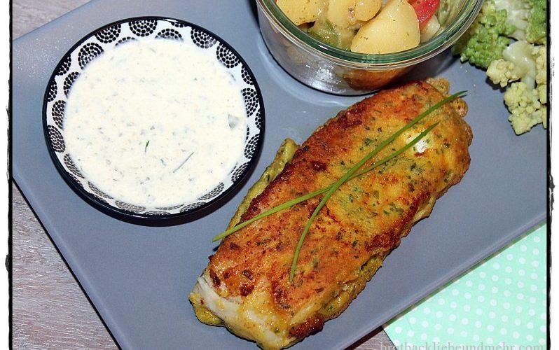 Kräuter-Backfisch mit Sauce Tartar
