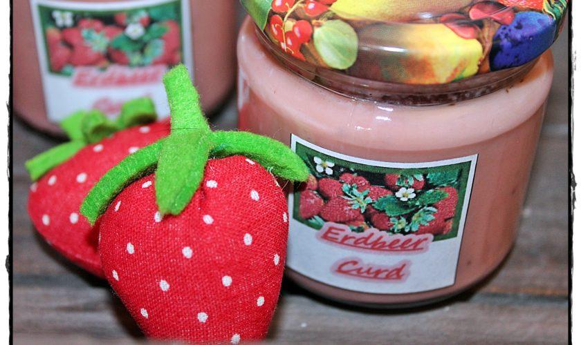 Erdbeercurd