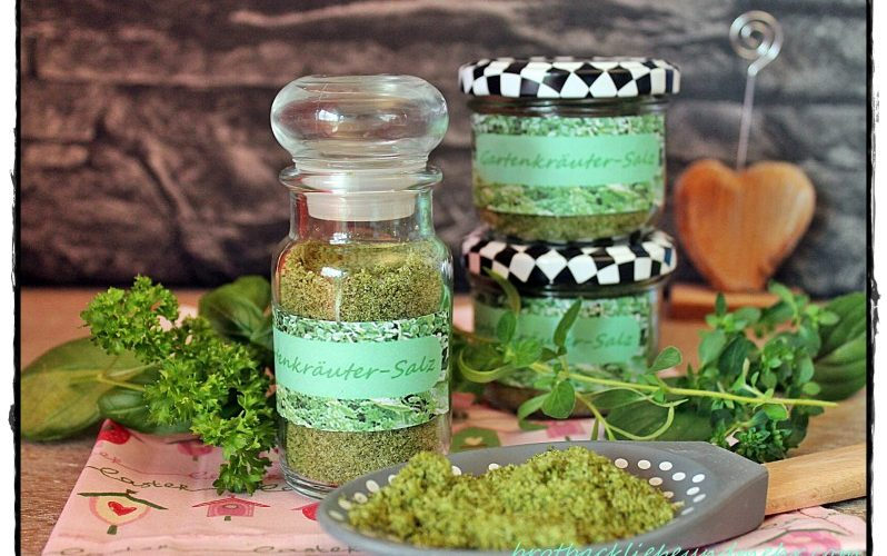 Gartenkräuter-Salz