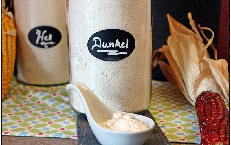 Glutenfreie Mehlmischungen Nr. 2 und 3 für dunkle Brote und Mischbrote