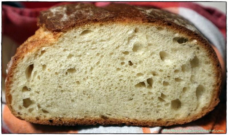 Italienisches Semola-Weißbrot