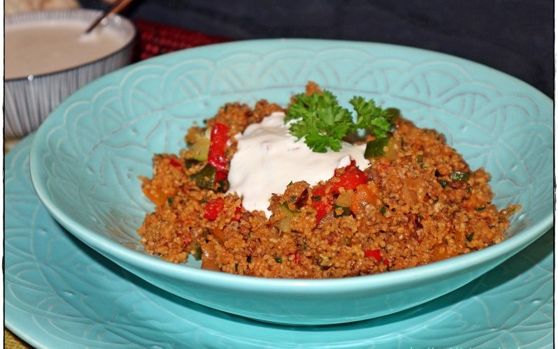 """One Pot""-Couscous-Pfanne"
