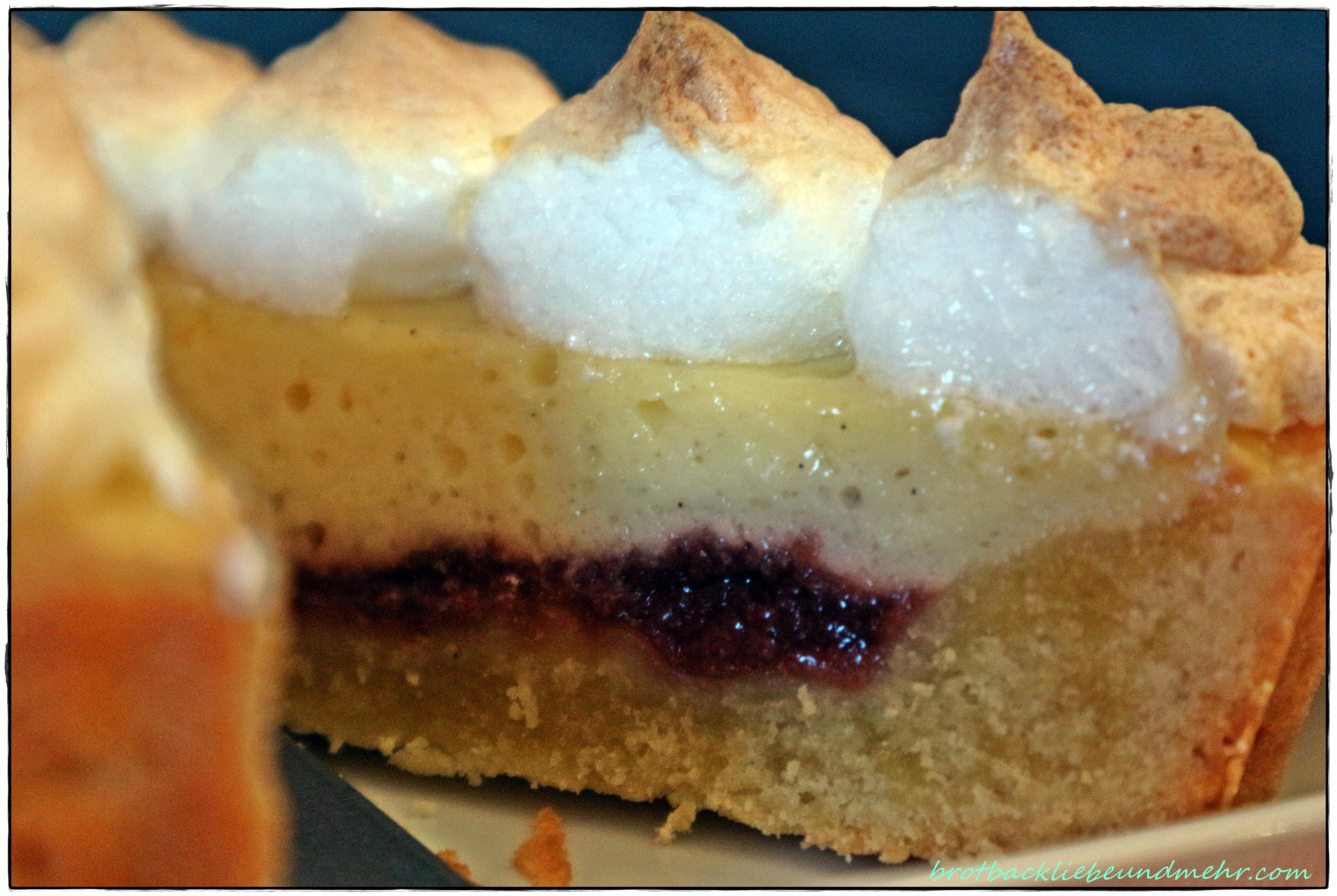 Fruchtige Kasekuchen Tarte Mit Baiserhaube Brotbackliebe Undmehr