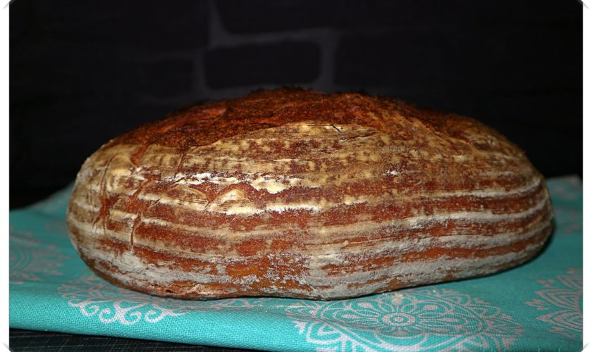 Süßkartoffel-Brot mit Übernachtgare