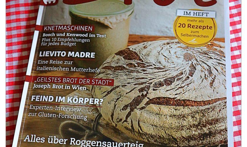 BROT – Das Magazin … die erste Ausgabe ist da!