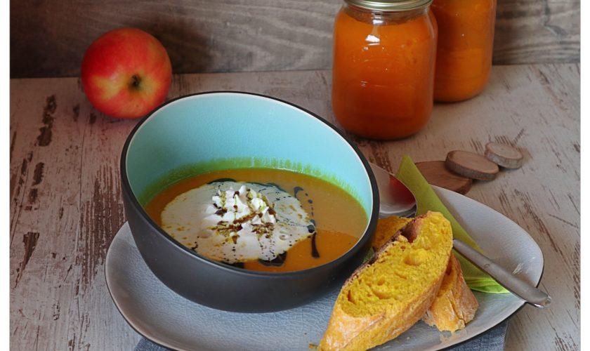 Kürbissuppe mit Cidre