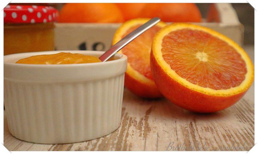 Tarocco-Orangen-Marmelade