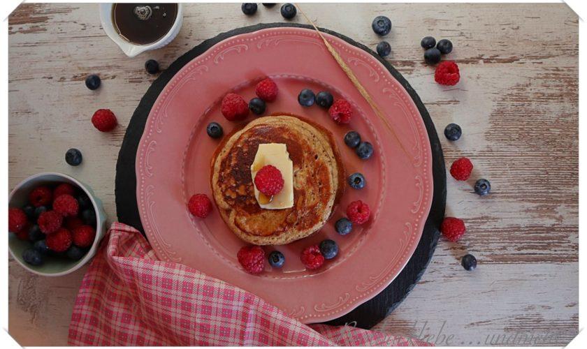 Einkorn-Joghurt-Pancakes