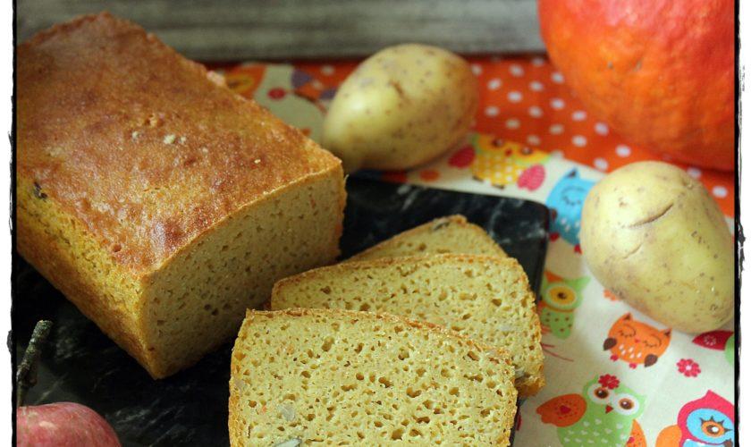 Glutenfreies Kartoffel-Kürbisbrot
