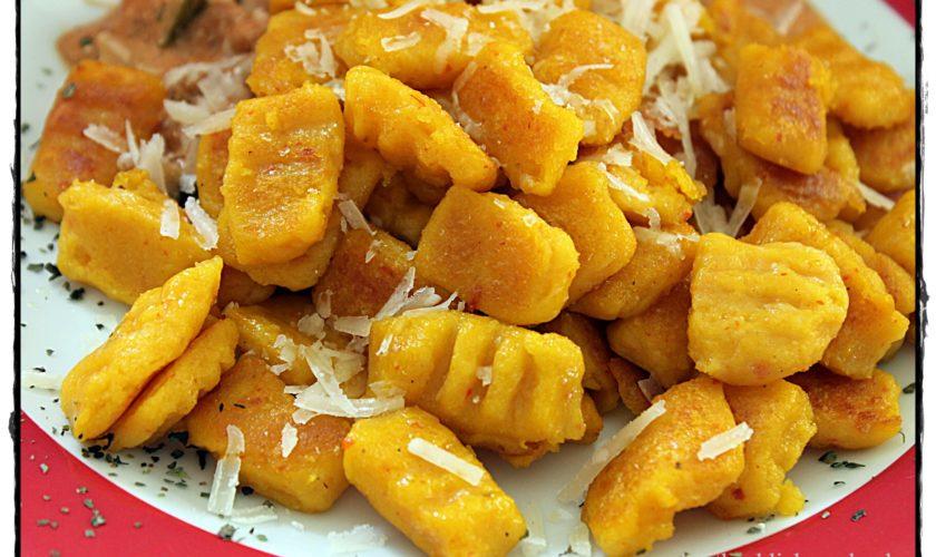 Kürbis-Kartoffel-Gnocchi