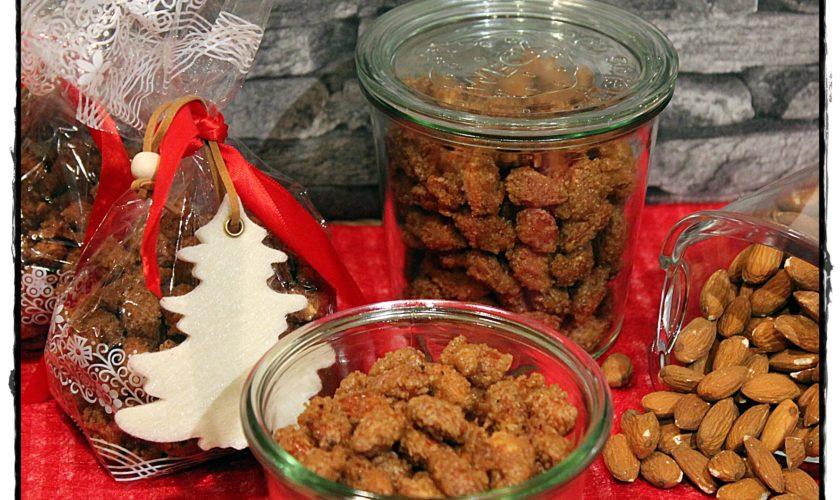 Gebrannte Mandeln mit Weihnachtsgewürzen