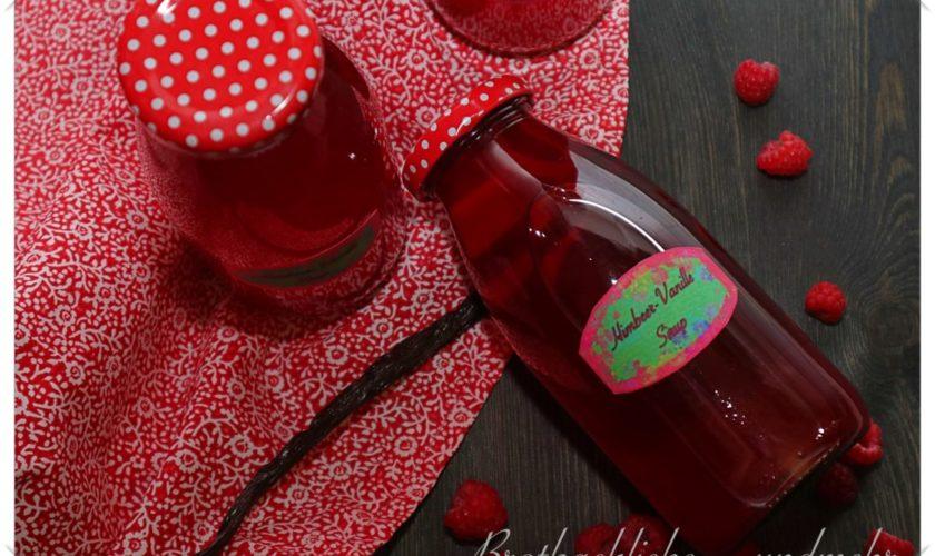 Himbeer-Vanille-Sirup