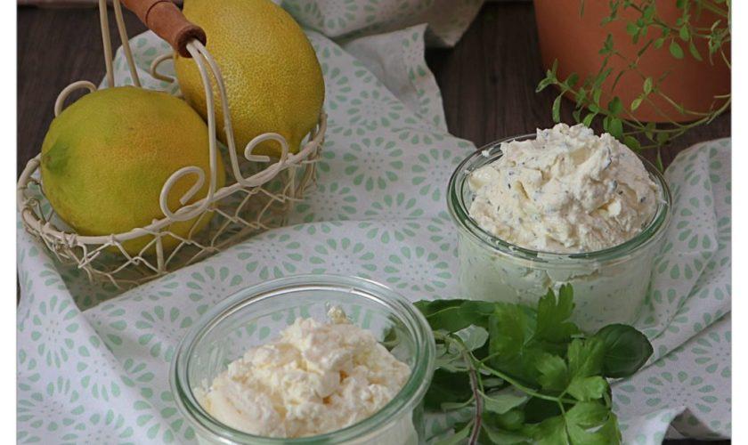 Kräuter-Knoblauch-Frischkäse
