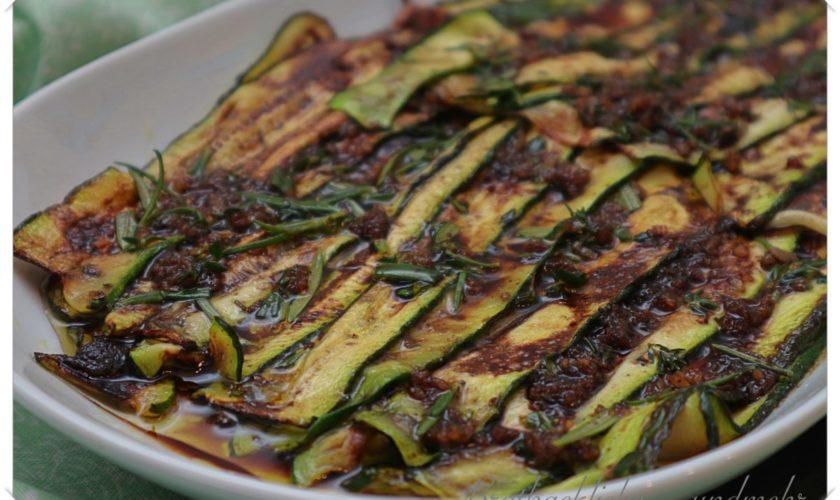 Marinierte Zucchini – Antipasti