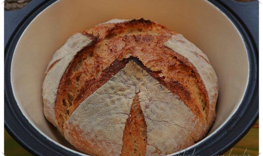"Italienisches Landbrot ""No-knead"""