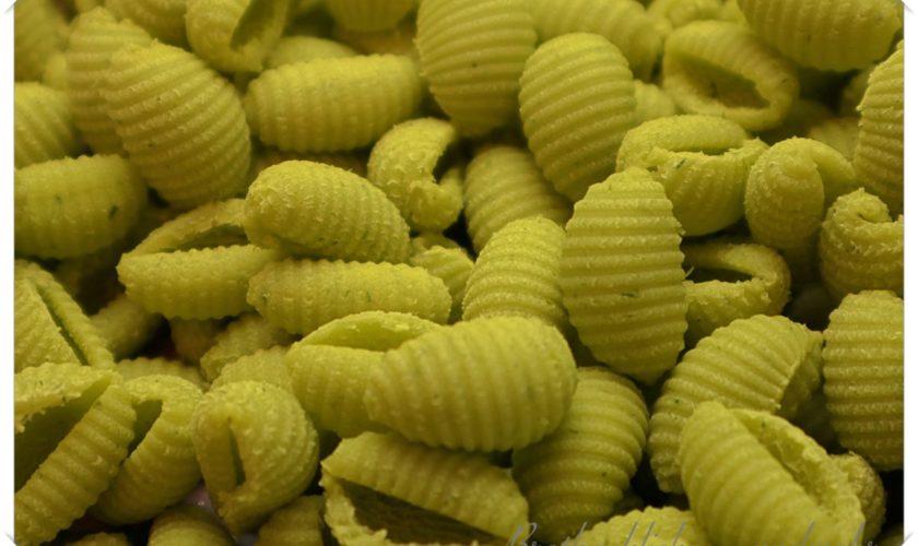 Bärlauch-Pasta aus dem Pastamaker